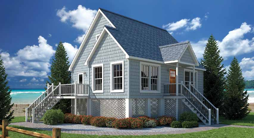 oasis homes breezy point modular 1 5 story