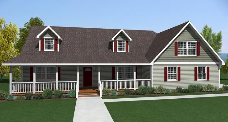 Oasis homes kenton modular 1 5 story for 1 5 story home