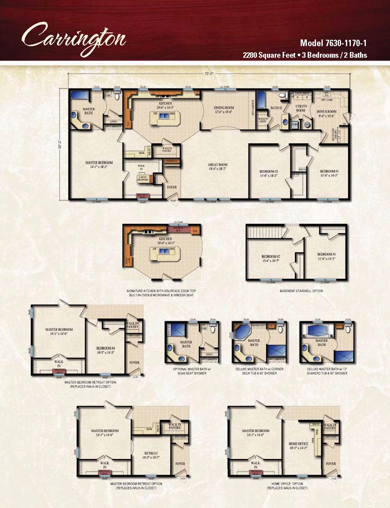 cool carrington homes floor plans. Floor Plan Layout Oasis Homes Carrington Modular Ranch Value
